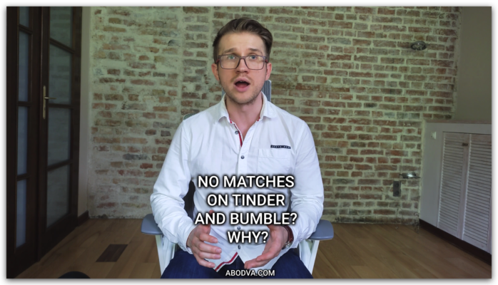No matches on Tinder and Bumble? Why?